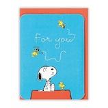 ホールマーク(Hallmark) 多目的カード スヌーピー 763022 刺繍屋根の上で│カード・ポストカード グリーティングカード