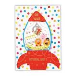 ホールマーク(Hallmark) 誕生お祝い/立体カード ディズニー 763732 トイ・ストーリークレーン