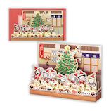 【クリスマス】ホールマーク(Hallmark) 立体グリーティングカード スヌーピー 寿司 764289