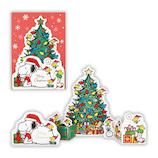 【クリスマス】ホールマーク(Hallmark) 立体グリーティングカード スヌーピー ウッドストックとツリー 764302