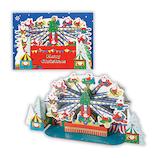 【クリスマス】ホールマーク(Hallmark) 立体グリーティングカード 遊園地 飛行機 765903