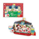 【クリスマス】ホールマーク(Hallmark) 立体グリーティングカード 遊園地 スケート 765910