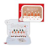 【クリスマス】ホールマーク(Hallmark) 立体グリーティングカード うたうサンタ 766016