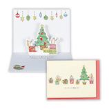 【クリスマス】ホールマーク(Hallmark) 立体グリーティングカード タイニー・アニマル・テイル はりねずみとプレゼント 766122