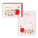 【クリスマス】ホールマーク(Hallmark) オルゴールカード スヌーピー みんなで合唱 766320