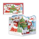 【クリスマス】ホールマーク(Hallmark) 立体グリーティングカード タイニー・ウィンターランド ツリー 766436