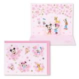 ホールマーク(Hallmark) G春 BL 立体カード ディズニー 769772 桜にのって│レターセット・便箋 レターセット
