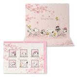 ホールマーク(Hallmark) G春 BL 立体カード スヌーピー 769789 桜の窓と兄弟│レターセット・便箋 レターセット