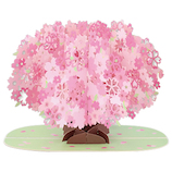 ホールマーク(Hallmark) G春 BL 立体レーザー 769864 一本桜│レターセット・便箋 レターセット