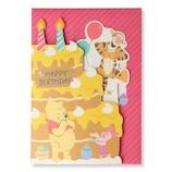 ホールマーク(Hallmark) ディズニー 誕生お祝い/オルゴール カットケーキ 770082 プーボイス