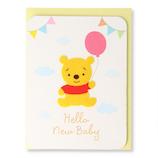 ホールマーク(Hallmark) 誕生お祝いカード 赤ちゃん ディズニー 770174 フェルトプー