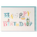 ホールマーク(Hallmark) 誕生お祝いカード 立体 ムーミン 770259 飾り文字│カード・ポストカード バースデー・誕生日カード