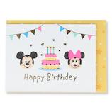 ホールマーク(Hallmark) 誕生お祝いミニカード 立体 ディズニー 770310 バースデーケーキMN