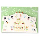 ホールマーク(Hallmark) 誕生お祝いカード 立体 クッキング・ケーキ 770877 ウサギ