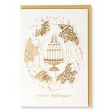 ホールマーク(Hallmark) 誕生お祝いカード ホールマーク・デコ 770976 リボンレーザーケーキ