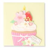 ホールマーク(Hallmark) 誕生お祝いミニカード 771027 カップケーキ