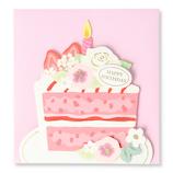 ホールマーク(Hallmark) 誕生お祝いミニカード 771034 ショートケーキ│カード・ポストカード バースデー・誕生日カード