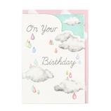 ホールマーク(Hallmark) バースデーカード 立体HS虹と雨 774646│カード・ポストカード バースデー・誕生日カード