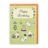 ホールマーク 立体カード ムーミンとケーキ 誕生お祝い 778286│カード・ポストカード バースデー・誕生日カード