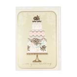 ホールマーク(Hallmark) 結婚お祝い グリーティングカード 778453 ウェディングケーキ
