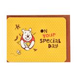 ホールマーク(Hallmark) ディズニー 誕生お祝い 立体カード 778484 プーとハチミツ