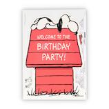 ホールマーク(Hallmark) 誕生お祝いカード 立体 スヌーピー 779443 家ダイカット