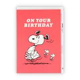 ホールマーク(Hallmark) 誕生お祝いカード 立体 スヌーピー 779450 家ポップアップ│カード・ポストカード バースデー・誕生日カード