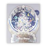 【クリスマス】ホールマーク クリスマスカード GALAXYTREE ホワイト 780661