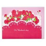 ホールマーク 母の日 立体カード レーザーカーネーション 783914│カード・ポストカード グリーティングカード