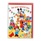 ホールマーク オルゴールカード ディズニー 誕生日パーティー 誕生お祝い 784829│カード・ポストカード バースデー・誕生日カード