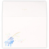 ホールマーク レターパッド用封筒 ピアノハーモニー フロムザレインボースカイ 786236│封筒・はがき 洋封筒