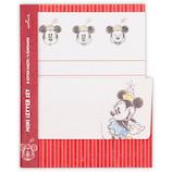 ホールマーク ミニレターセット ディズニー ミニー ストライプ赤 786625│カード・ポストカード グリーティングカード