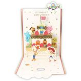 ホールマーク 誕生お祝い 立体カード ディズニー トイ・ストーリー イチゴケーキ 787493│カード・ポストカード バースデー・誕生日カード
