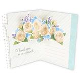 ホールマーク(Hallmark) ありがとう 立体カード フェイバリットローズ 787738 ブルー│カード・ポストカード グリーティングカード