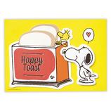 ホールマーク(Hallmark) 多目的カード スヌーピー トースト 790073│カード・ポストカード グリーティングカード