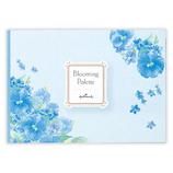 ホールマーク ひとことふたこと箋 ブルーミング・パレット ブルーブーケ 790417│カード・ポストカード メッセージカード