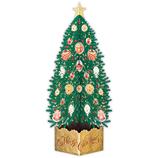 【クリスマス】ホールマーク(Hallmark) 立体クリスマスカード レーザーカット 794354 グリーンツリー│カード・ポストカード クリスマスカード