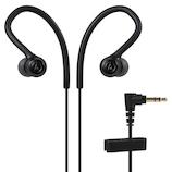 オーディオテクニカ(audio-technica) インナーイヤーヘッドホン ATH-SPORT10 ブラック│オーディオ機器 ヘッドホン・イヤホン
