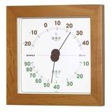 エンペックス ウエストン温・湿度計 ナチュラル