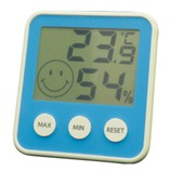 EMPEX デジタルmidi温度・湿度計 ブルー