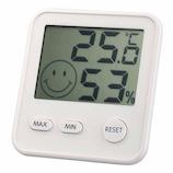 エンペックス おうちルーム デジタルmidi温湿度計 TDー8411 ホワイト│温度計・湿度計