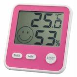 エンペックス おうちルーム デジタルmidi温湿度計 TDー8415 ピンク│温度計・湿度計