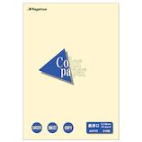 長門屋商店 カラーペーパー A4 最厚口 25枚入 レモン ナ−3502