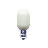 旭光 ナツメ球 E12T20 110V15W 白