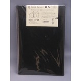 HS 合皮ブックカバー B5 黒