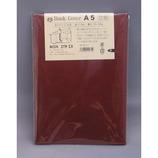 HS 合皮ブックカバー 赤 A5