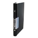 エイチ・エス ミトス システムバインダー バイブル HS58839 クロ│システム手帳・リフィル 6穴バインダー