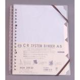 HS CRバインダー A5 Sクリア HSCR-A5C