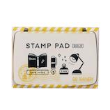 サンビー STAMP PAD SPE‐G02 ゴールド│印鑑・はんこ 朱肉・スタンプ台