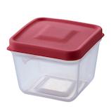 スマイルキッズ ふたがトングになる保存容器 ATN-01SP サーモンピンク│保存容器 タッパー